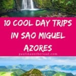 Looking for excursions in Sao Miguel, Azores? A selection of the best day trips from Ponta Delgada to the best attractions in Sao Miguel island, Azores but also to secret Azores sights. What is your favorite day tour from Sao Miguel? #azores #portugal #saomiguel #azorestravel #pontadelgada #portugaltravel #islandlife #hikingtrip #hikingideas #vacationideas