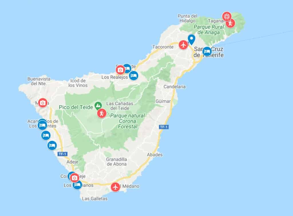 where to stay in tenerife, best resorts in tenerife