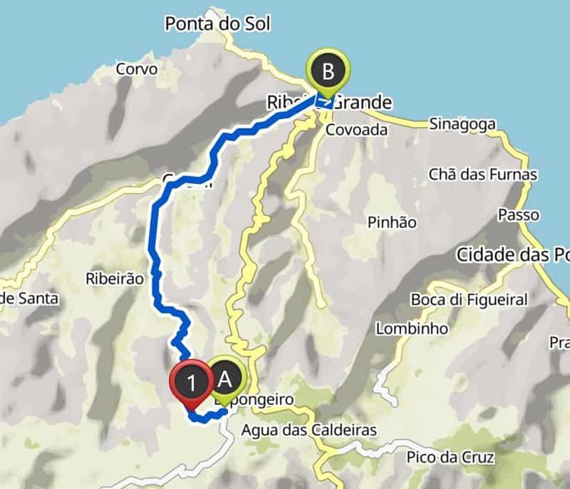 espongeiro coculi hike map