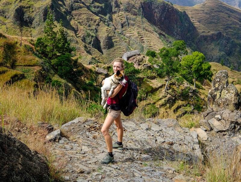 hiking in santo antao