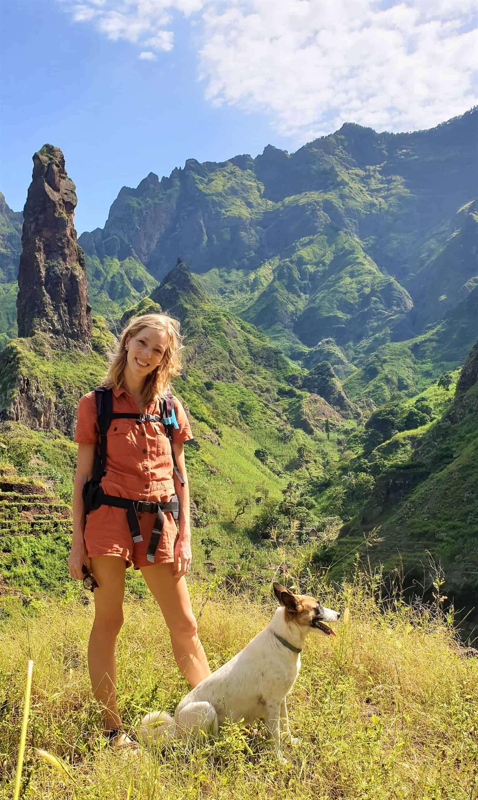 hiking in santo antao