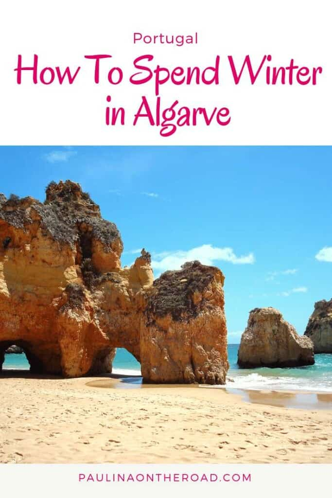 What to do in Algarve (Portugal) during winter? A selection of best things to do during your holiday in the sunny south during off season including remote beaches, shopping, resorts, golf and birdwatching