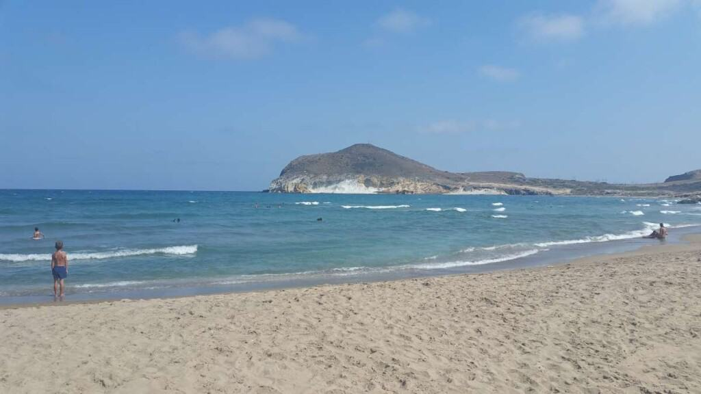 beach areas in southern spain, playa de los genoveses in almeria
