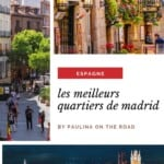 Vous vous demandez où séjourner à Madrid ? Ce guide de Madrid par un local vous emmène dans les meilleurs hôtels de Madrid, y compris les hôtels-boutiques. Il existe de nombreux quartiers différents à Madrid et les quartiers de Madrid diffèrent beaucoup les uns des autres. Il est donc important de trouver le meilleur quartier où séjourner à Madrid afin de profiter au mieux de vos vacances à Madrid, en Espagne. #madrid #espagne #hotelsmadrid #quefaireàmadrid #quartiersmadrid