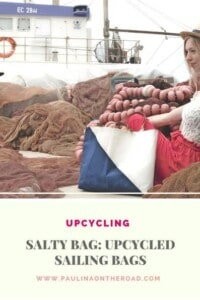 Looking for a Sustainable and Upcycled Bag? Discover the upcycled purses by Salty Bag made of decommissioned sails. Refined design, each purse is a unique handcrafted fashion item made in Greece. Sails transformed into bags. #saltybag #ecofashion #upcycling #boating