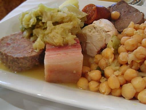 madrid food cocido madrid