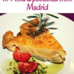Are you wondering what to eat in Madrid? This Madrid food guide is about the best food to try in Madrid including Madrid food restaurants where you can enjoy tapas, paella and more. #spain #madrid #madridfood #madridrestaurants #spainfood