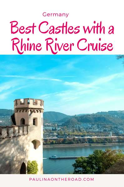 8 Highlights of a Rhine River Cruise: incl. German castles, towns, wine tasting| Discover the most scenic attractions and hikes in Upper Middle Rhine with this Travel Guide + Map. #rhineriver #rivercruise #rhinecastle #germany #rivercruise