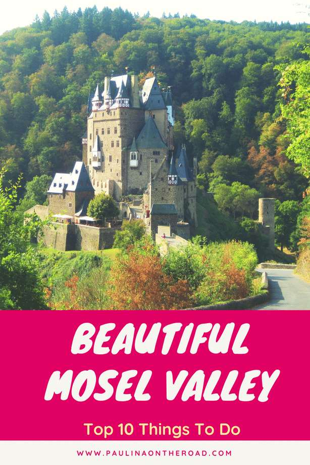 A perfect weekend in Germany: the Mosel River Valley | What To Do in Moselle Valley: hiking, river cruises and castles incl Burg Eltz | Riesling Wine Tasting | Map #mosel #cruise #germany #wine