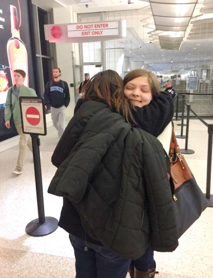 airport, studies, usa, europe, sadness, happiness, university, family, paulina on the road, blog, guest post