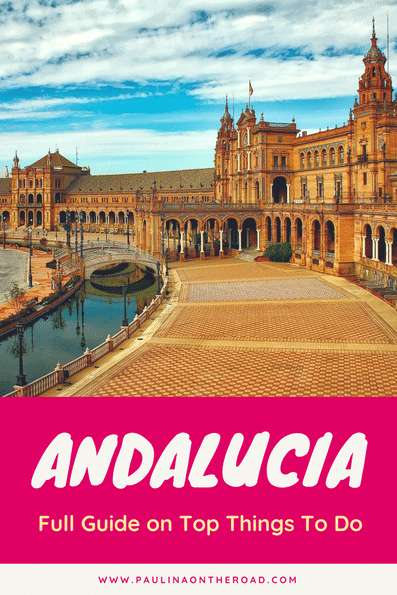 Are you planning a trip to beautiful Andalucia, Spain? Check out this full guide on Andalusia, Things To Do including Flamenco, Tapas, Day Trips from Malaga, Seville, Granada | Attractions to visit in Southern Spain including Andalusia map.