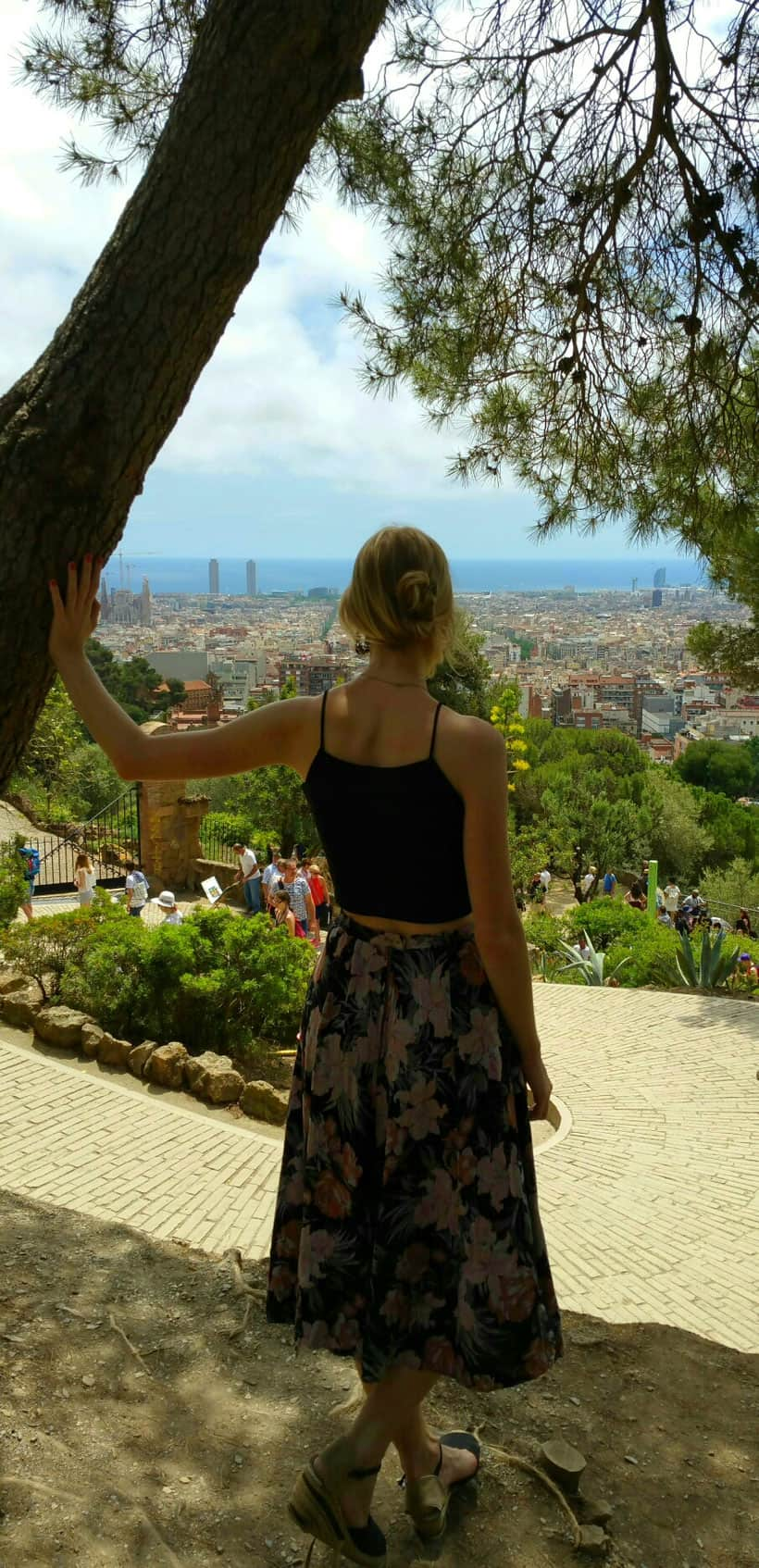 Barcelona, erasmus, traveling, weekend, park guell, nomad, nomada, reunion, viaje, viajar, spain espana