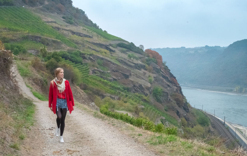 Best towns along the rhine river, hiking from Oberwesel to St. Goar