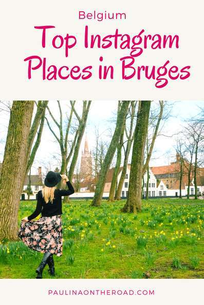 Bruges is a must when traveling to Belgium. It's the picture/photo perfect town and find here the top Instagram places. From quaint plazas, to tasty chocolate and beer shops. What is your favorite?
