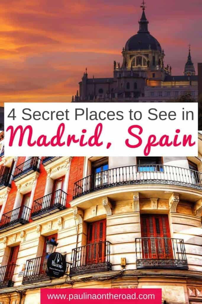 Discover 7 less known attractions of Madrid from a local's perspective. Including hidden gems in Parks, and museums. Let visit non-touristy Madrid together. #madrid #madridspain #nontouristy #madridtravel #citytripmadrid
