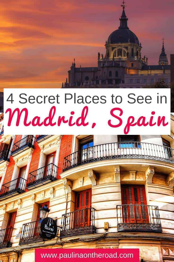 Discover 7 less known highlights of Madrid. After living in the Spanish capital for almost 3 years, I got to see and taste much of it. I want to share with you some of its most hidden gems. #spain #madrid #thingstodo #parks