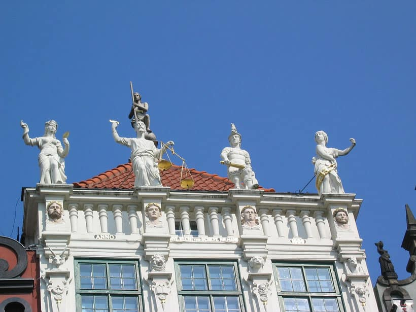 things to see in gdansk, the golden house