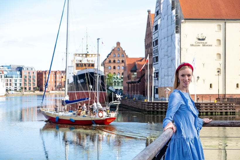best viewpoints in gdansk, hanging out at the marina