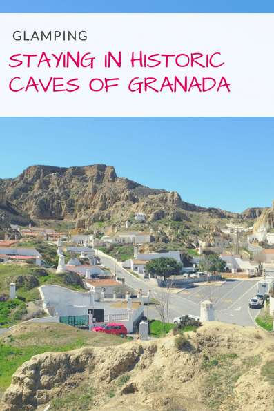 Glamping in Spain in the historic cave homes near Granada and Guadix. | Discover creative accommodation sites in Andalusia. | Camping in Spain | Traditional Andalusia | Day Trip from Granada #spain #granada #glamping #cavehouse #visitspain