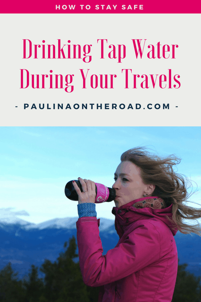 How to stay safely hydrated during your travels and hikes around the world? Whether you're traveling to exotic countries or adventuring, there's no need to worry about drinking tap water with Water-To-Go bottle. Clean and pure water. #hydration #traveling #outdoor #waterfiltering #waterbottle #sustainabletravel