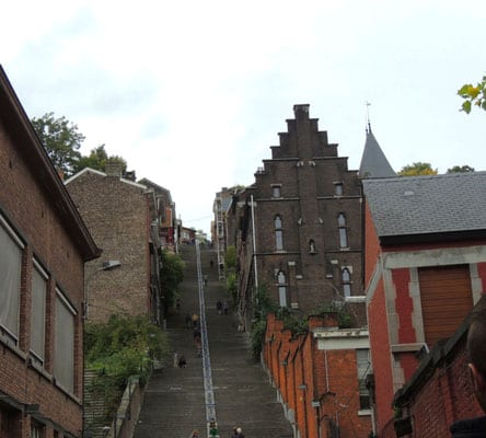 things to see in liege belgium, bueren staircase of liege