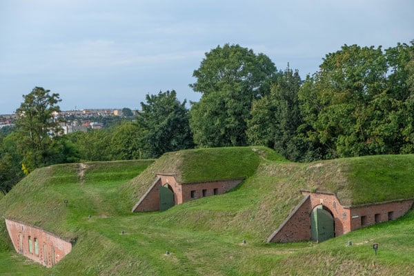 best guided tour in gdansk, exploring a 19th century fort on gradowa hill