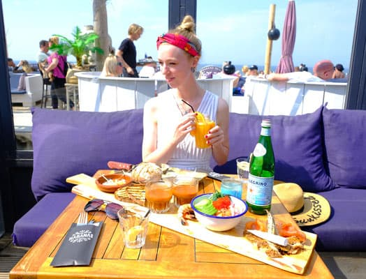 Eat out in The Hague: On the Beach den haag, netherlands, den haag guide, travel the hague