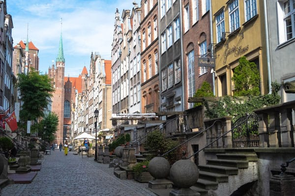 gdansk in one day, the beautiful mariacka street