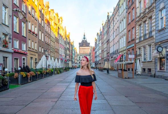 walking tours in gdansk, the beautiful streets of gdansk