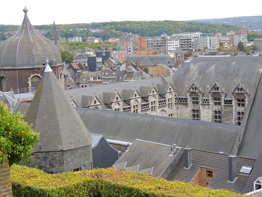 top liege attractions, view from the liege cathedral