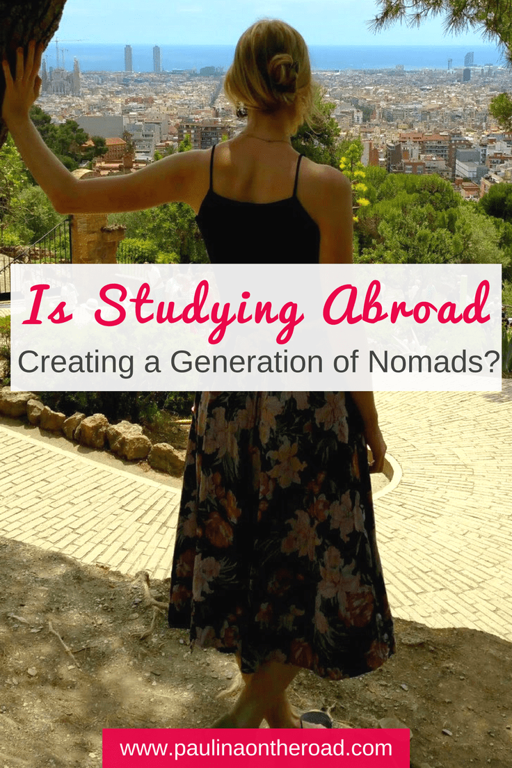 Is studying abroad creating a generation of Nomads? Especially the exchange program ERASMUS fosters cultural exchange. Many of my ERASMUS friends had a hard time to settle down after studying abroad. #nomad #abroad #studying #europe #travel #digitalnomad
