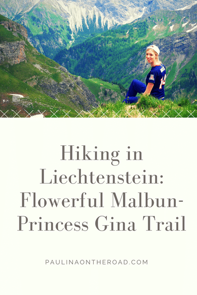 Lets go hiking in Liechtenstein. Discover one of the best hiking trails in Liechtenstein, the Princess Gina Trail It is known for its botanic richness and is overed with thousands of seldom flowers. Lets hike in the Alps!