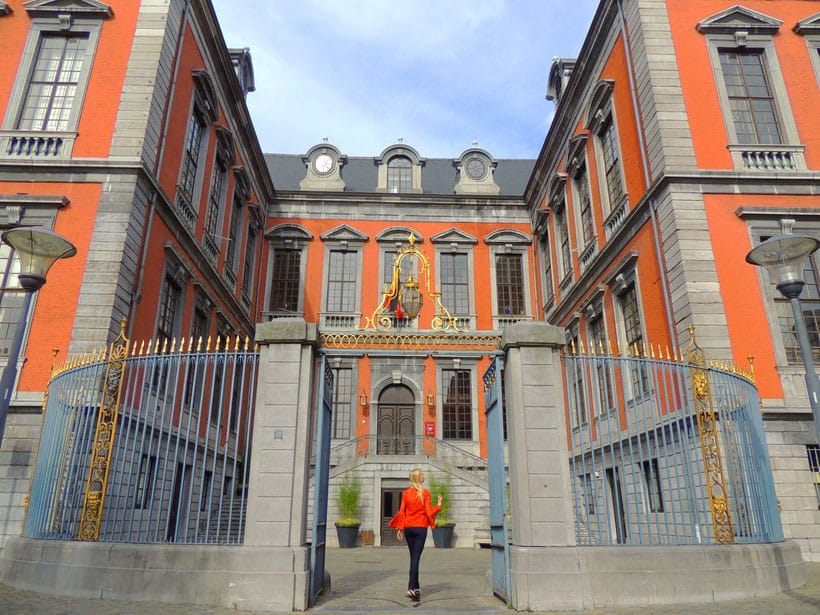 things to see in liege belgium, walking into la ciolette the liege town hall