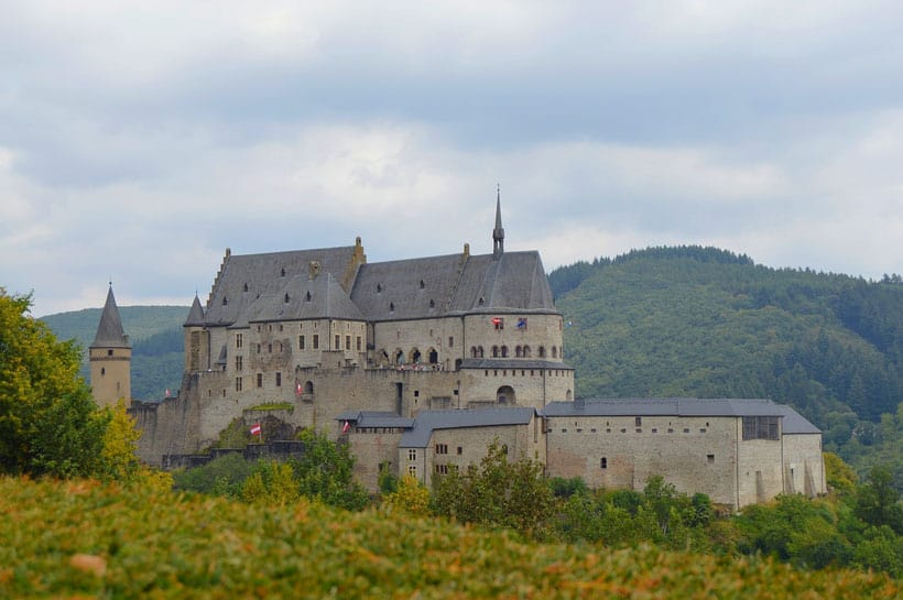Vianden Castle trips to luxembourg
