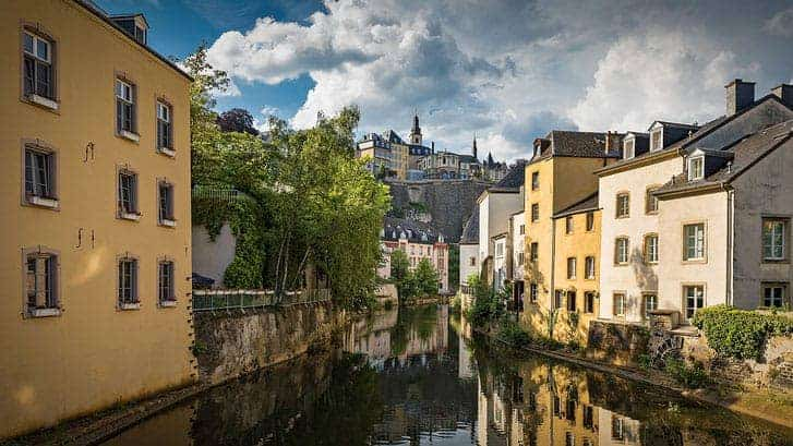 luxembourg city, old town, visit luxembourg, grund district