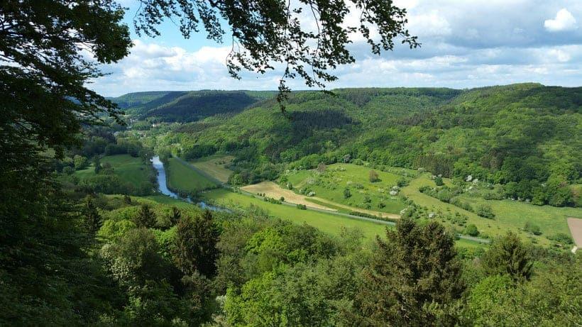hiking in luxembourg, mullerthal, echternach, berdorf