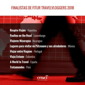 Nominated For Best Content at FITUR Travel Blogger 2018 in Madrid