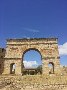 Medinaceli, Spain: A mix between Roman and Arab culture