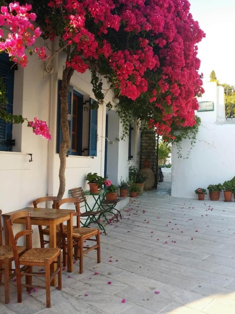 lefkes village, paros island, hotels in paros