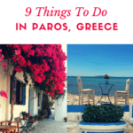 Are you thinking of spending your next holiday in Paros, Greece? This beautiful island is home to some of the best beaches in Greece, absurdly delicious food, and gorgeous sunsets. I was impressed by all the amazing things to do in Paros, Greece and I can't wait to go back! This guide includes the best Paros activities, where to stay, what to eat and the best neighborhoods to hang out. #Paros #Greece #ParosGreece #ParosIsland #ParosHoliday #ParosBeaches #GreekIslands #Parikia #Naoussa #Lefkes