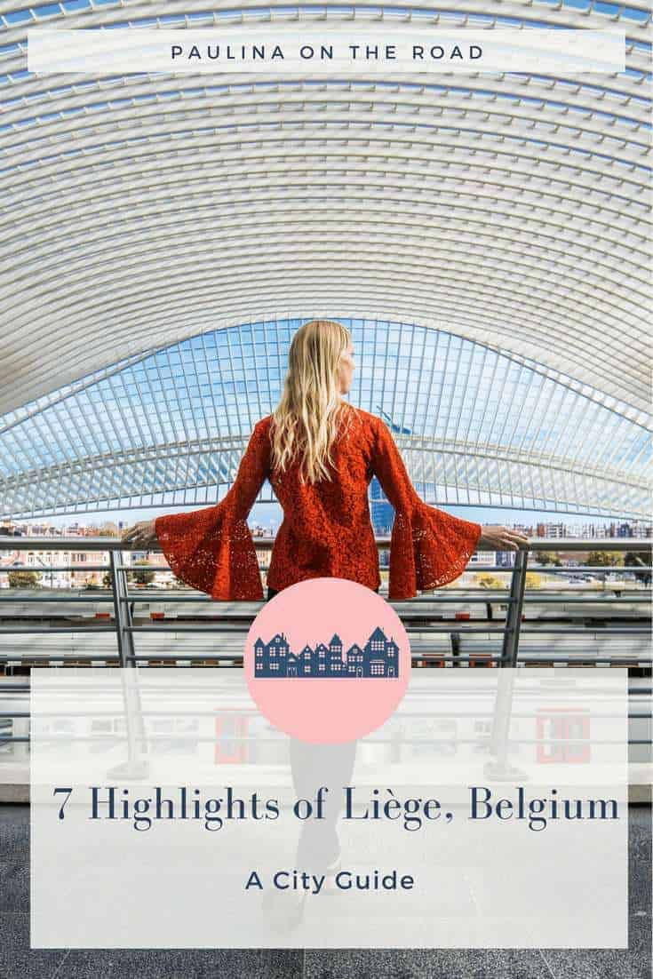 pinterest, liege, belgium, day trip, brussels, food, waffle, fries, beer, chocolate, train station, rail station, guillemins, calatrava, gaufre, castle, attractions, what to do, hotel, city center