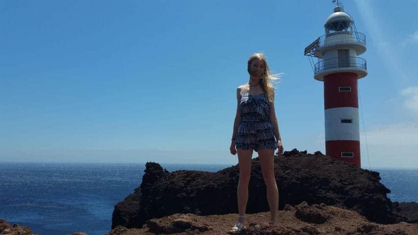 santiago, gigantes, tenerife, teneriffa, canarias, canary, hiking, cliffs, sightseeing, senderismo, comer, masca, teno, playa, beach, restaurant, tourism, turismo, light house, faro