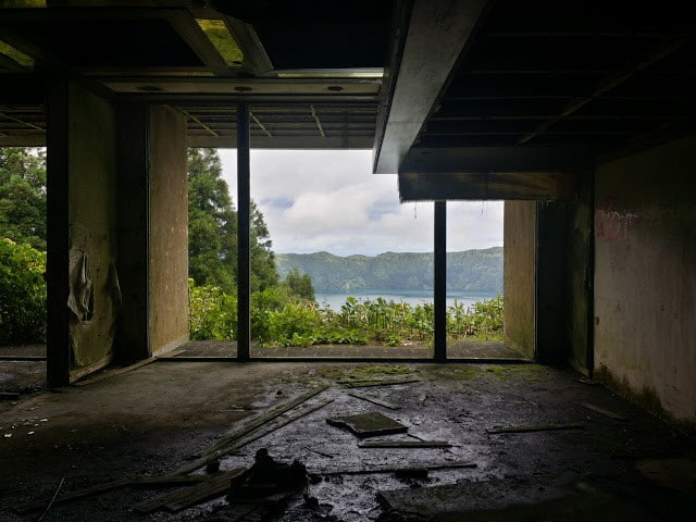 abandoned hotel ste cidades, sao miguel azores, portugal
