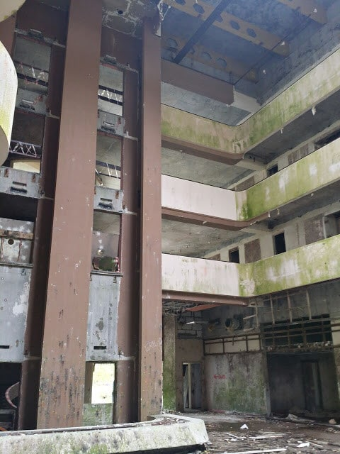 abandoned hotel ste cidades, sao miguel azores, portugal, day trips from ponta delgada