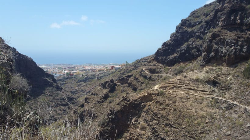 tenerife, hiking, barranco, infierno, senderismo, islas canarias, canary islands, canarias, teneriffa, wanderung, cliffs, beach, hiking, outdoor sport, adeje, waterfall, guanches, aborigine, tourism, turismo