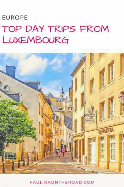 The Best Day Trips from Luxembourg | A selection of best things to do during your city break to Luxembourg City including trips to Brussels, Strasbourg, and Germany |Hotels, Restaurants Map |