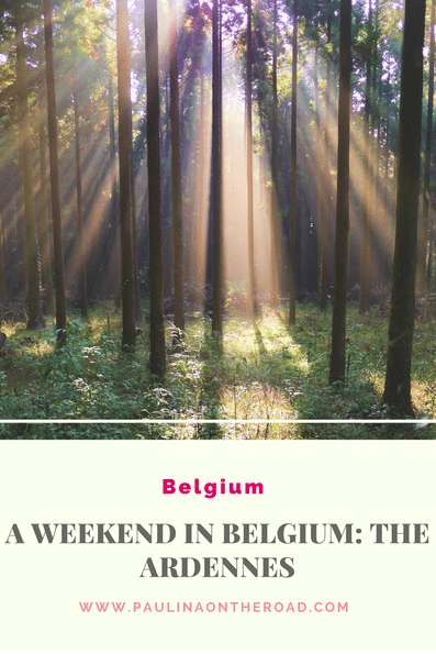 The perfect weekend break in Belgium: the Ardennes | Natural Paradise near the Luxembourg border for hikings, trekking and cycling | Beer Tastings, Medieval Abbeys and Belgian Chocolate | #belgium #chocolate #belgian #ardennes