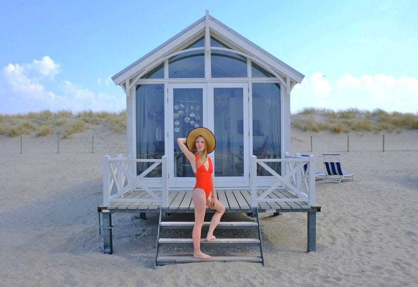 In love with the maritime design of our Beach Hut den haag trip, the hague guide, weekend in den haag