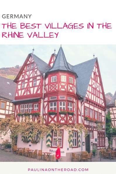 Top Things To Do in the Romantic Rhine Valley, Germany incl. German castles, towns, Rhine river cruises | Discover the most scenic attractions and hikes in Upper Middle Rhine with this Travel Guide Map.