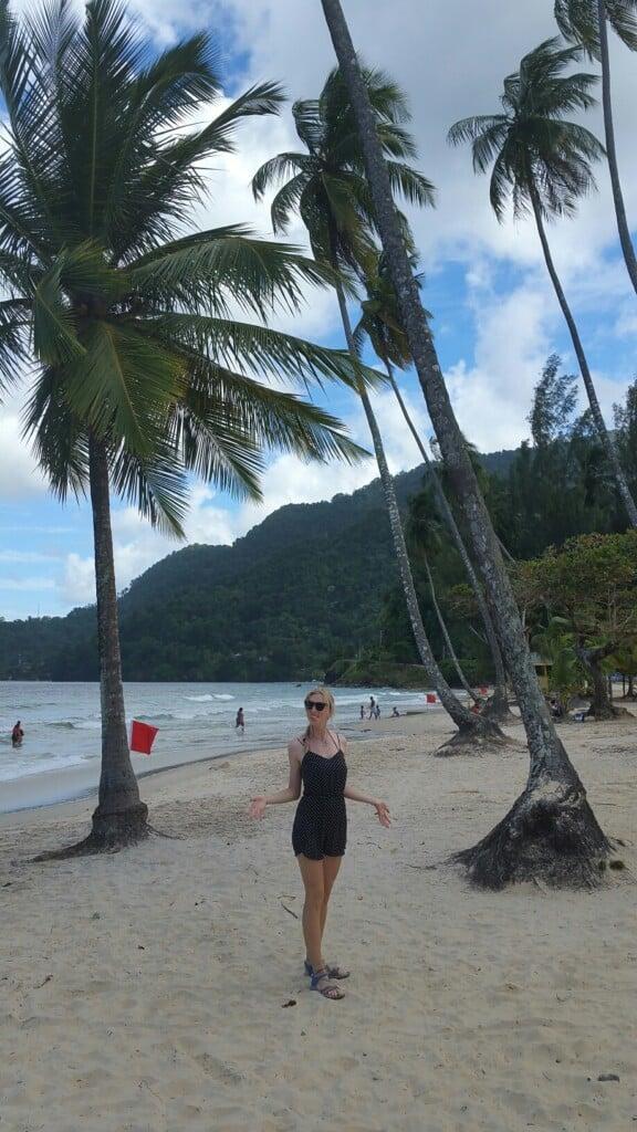maracas beach, trinidad, tobago